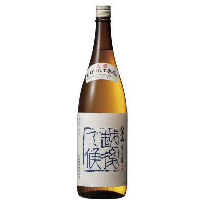 【10月末入荷】八海山「越後で候」しぼりたて原酒 新潟県八海醸造 1800ml