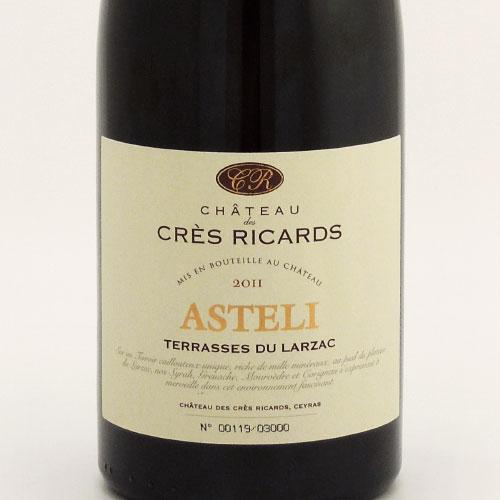 シャトー・クレ・リカール アステリ 2011 クレ・リカール フランス ラングドック 赤ワイン 750ml