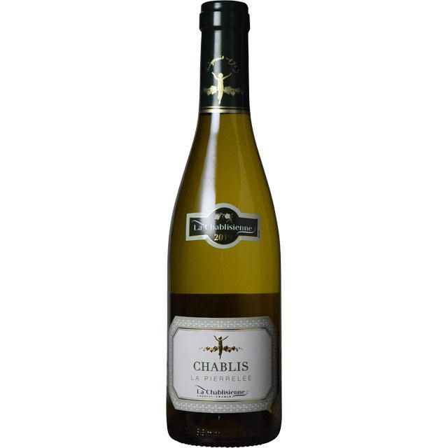シャブリ・ラ・ピエレレ 2012 ラ・シャブリジェンヌ フランス ブルゴーニュ 白ワイン 375ml