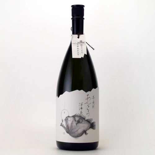あんこう(深海魚) 長期熟成5年いも焼酎  宮崎県 王手門酒造 1500ml