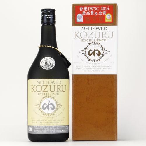 メローコヅルエクセレンス 米焼酎 鹿児島県 小正醸造 700ml