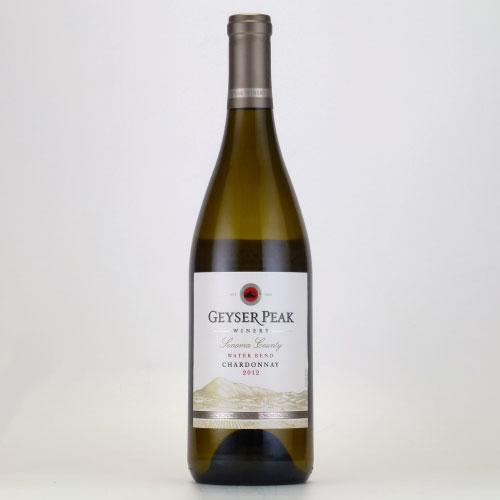 ガイザーピーク ウォーターベンド シャルドネ 2012 ガイザーピーク アメリカ カリフォルニア 白ワイン 750ml