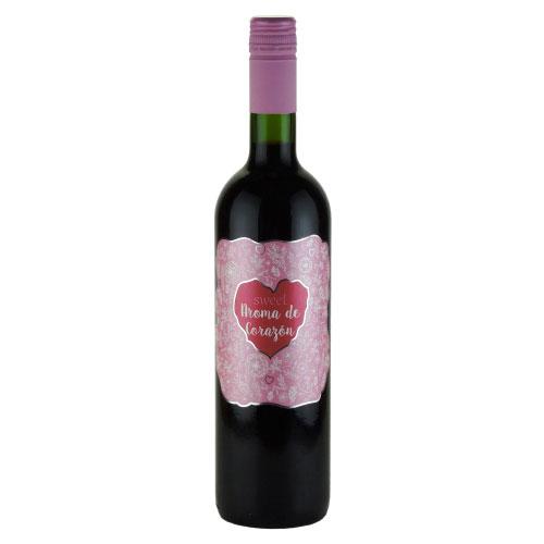 アロマ・デ・コラソン スィート・ガルナッチャ 2013 アネコープ スペイン バレンシア スパークリング赤ワイン 750ml