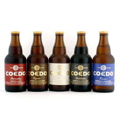 COEDOビール 瓶