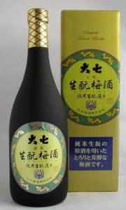 大七生もと梅酒(ギフト箱付)720ml 福島県 大七酒造