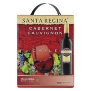 カベルネソーヴィニヨン バッグ・イン・ボックス3L サンタレッジーナ チリ カルチャグァヴァレー 赤ワイン 3000ml
