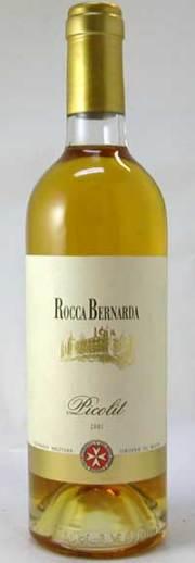 ピコリット2001ロッカベルナルダ 500mlフリウリ 白ワイン