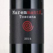 マレンマンテ ロッソ・トスカーナ 2014 ポッジョ・アルジェンティエラ イタリア トスカーナ 赤ワイン 750ml