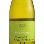 ミュスカデ・セーベル・エメーヌ シュールリー 2012 ドメーヌ・デュ・ムーラン・カミュ フランス ロワール 白ワイン 750ml