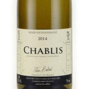 シャブリ 2014 ジュリアン・バイヤール フランス ブルゴーニュ 白ワイン 750ml