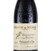 シャトー・ヌフ・デュ・パプ シャント・ル・メルルVV 2003 ボスケ・デ・パプ フランス コート・デュ・ローヌ 赤ワイン 750ml