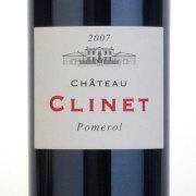 シャトー・クリネ 2007 シャトー元詰め フランス ボルドー 赤ワイン 750ml