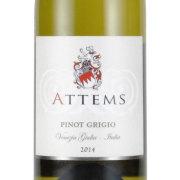 アテムス・デッラ・ヴィーテ 2014 アテムス イタリア フリウリ 白ワイン 750ml