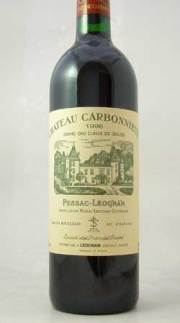 シャトー・カルボーニュ(Chateau Carbonnieux Rouge)1996 750ml 赤ワイン