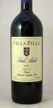 メルロー・サンタデーレ2005ヴィッラ ピッロ 750ml 赤ワイン
