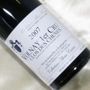ヴォルネイ プルミエ・クリュ 2007 アラン・コルシア フランス ブルゴーニュ 赤ワイン750ml
