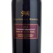 プレジール・ド・メール カベルネ・ソーヴィニヨン 2010 ディステル 南アフリカ ステレンボッシュ 赤ワイン 750ml