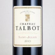 シャトー・タルボ 格付け第4級 2013 シャトー元詰め フランス ボルドー 赤ワイン 750ml