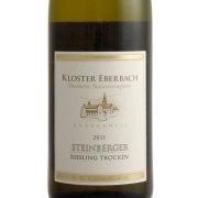 シュタインベルガー・クレッセンティア リースリング・トロッケン 2011 クロスター・エーバーバッハ蒸留所 ラインガウ 白ワイン 750ml