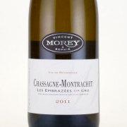 シャサーニュ・モンラッシェ プルミエクリュ・レ・ザンブラゼ 2011 ヴァンサン・ エ ・ソフィー・ モレ ブルゴーニュ 白ワイン 750ml