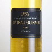 シャトー・ギロー ソーテルヌ格付第1級 2012 シャトー元詰 フランス ボルドー 白ワイン 750ml