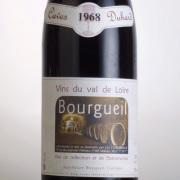 ブルグイユ 1968 カーヴ・デュアール フランス ロワール 赤ワイン 750ml
