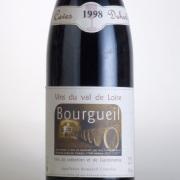 ブルグイユ 1998 カーヴ・デュアール フランス ロワール 赤ワイン 750ml