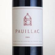 ポイヤック・ド・ラトゥール 2004 シャトー元詰め フランス ボルドー 赤ワイン 750ml