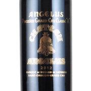 シャトー・アンジェリュス プルミエ・グランクリュ・クラッセA 2021 シャトー・元詰 フランス ボルドー 赤ワイン 750ml