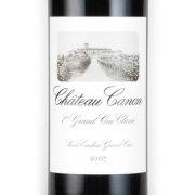シャトー・カノン サンテミリオン・プルミエ・グランクリュクラッセB 2007 シャトー元詰 フランス ボルドー 赤ワイン 750ml