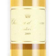 シャトー・ディケム 第一特別級 2009 シャトー元詰 フランス ボルドー 白ワイン 750ml