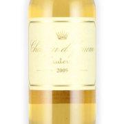 シャトー・ディケム 第一特別級 2009 シャトー元詰 フランス ボルドー 白ワイン 375ml