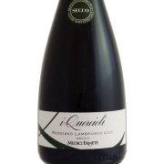 ランブルスコ・セッコ クエルチオーリ・レッジアーノ メディチ・エルメーテ イタリア エミリア・ロマーニャ 赤ワイン 750ml