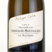 シャサーニュ・モンラッシェ プルミエ・クリュ・ラ・マルトロワ 2013 フィリップ・コラン フランス ブルゴーニュ 白ワイン 750ml