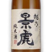 越乃景虎 純米酒 新潟県諸橋酒造 1800ml