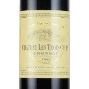 シャトー・レ・トロワ・クロワ 1995 シャトー元詰め フランス ボルドー 赤ワイン 750ml