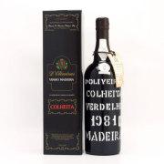 ドリヴェイラ・ ヴェルデーリョ マディラワイン 1981 メッシアス ポルトガル マディラ 赤ワイン 750ml