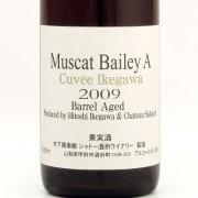 マスカットベリーA樽熟成 キュヴェ・イケガワ 2009 シャトー酒折 日本 山梨県 赤ワイン 750ml