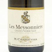 クローズ・エルミタージュ・ブラン レ・メゾニエ 2009 Mシャプティエ フランス コート・デュ・ローヌ 白ワイン 750ml