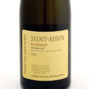 サン トーバン・アン レミリイ プルミエクリュ 2010 ピエール・イヴ・コラン・モレ フランス ブルゴーニュ 白ワイン 750ml