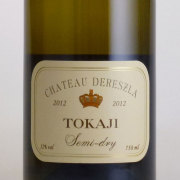 トカイ・セミ・ドライ 2012 シャトー・デレスラ ハンガリー 白ワイン 750ml
