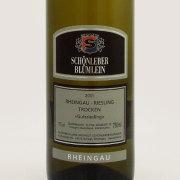 グーツリースリング トロッケン 2011 ショーンレーバー・ブリュームライン ドイツ ラインガウ 白ワイン 750ml