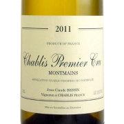シャブリ モンマン プルミエ・クリュー 2011 ジャン=クロード・ベッサン フランス ブルゴーニュ 白ワイン 750ml