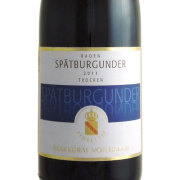 マルクグラフ・フォン・バーデン シュペートブルグンダー 2011 ドイツ バーデン 白ワイン 750ml