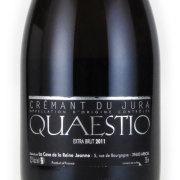 クレマン・ド・ジュラ クストラ=ブリュット クアエスティオ ラ・カーヴ・ド・ラ・レーヌ・ジャンヌ フランス ジュラ 白ワイン 750ml