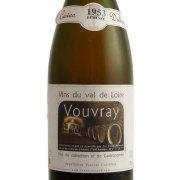 ヴーヴレ ドミ・セック 1953 カーヴ・デュアール フランス ロワール 白ワイン 750ml