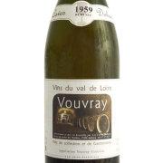 ヴーヴレ ドミ・セック 1959 カーヴ・デュアール フランス ロワール 白ワイン 750ml
