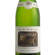 ヴーヴレ ドミ・セック 1966 カーヴ・デュアール フランス ロワール 白ワイン 750ml