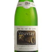 ヴーヴレ ドミ・セック 1968 カーヴ・デュアール フランス ロワール 白ワイン 750ml