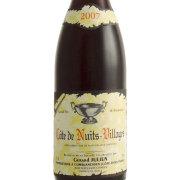 コート・ド・ニュイ・ヴィラージュ 2007 ジェラール・ジュリアン フランス ブルゴーニュ 赤ワイン 750ml